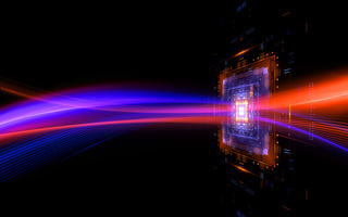 CPU socket. Modern technology. Big data center. Mobile device. Light effect. Future microcontroller. Blockchain. Energy grid Super system. Virtual reality. Digital signal. Overclock module