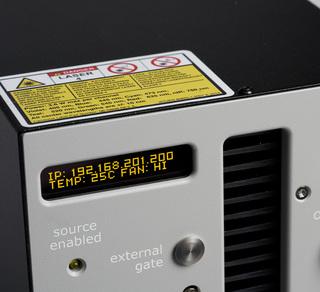 Lumencor's Celesta Laser Light Engine, screen detail