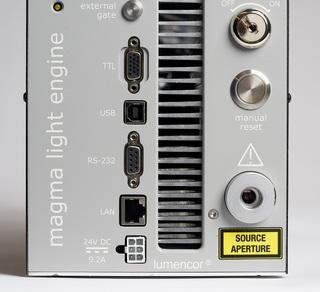 Lumencor's MAGMA LED Light Engine, lower detail