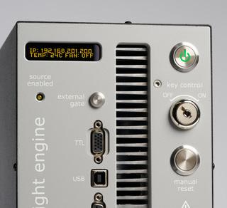 Lumencor's MAGMA LED Light Engine, screen detail