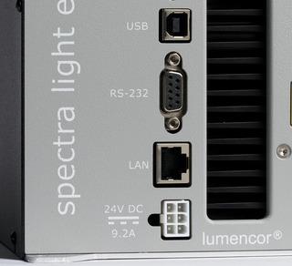 Lumencor's SPECTRA Laser Light Engine,  plug details
