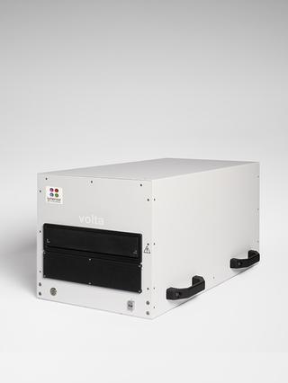 Lumencor's VOLTA Scanner, angled left view