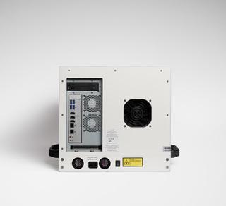 Lumencor's VOLTA Scanner, back view